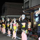 昨日がら毛馬内盆踊り始まったす。