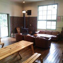 中滝ふるさと学舎さある「森の暖話室」だす。