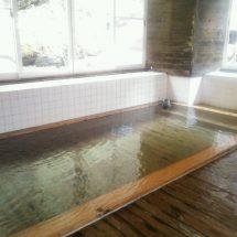 志張温泉の湯っこだす。