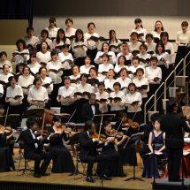 にぢようび、ふるさとかづのオーケストラの公演やったす。