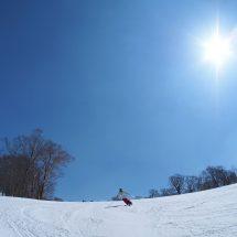 八幡平スキー場開きやったす。