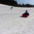 明日、花輪スキー場でスノーフェスティバルあるす。