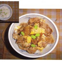 """地産地消レシピ№2:まるごと""""かづの""""丼"""