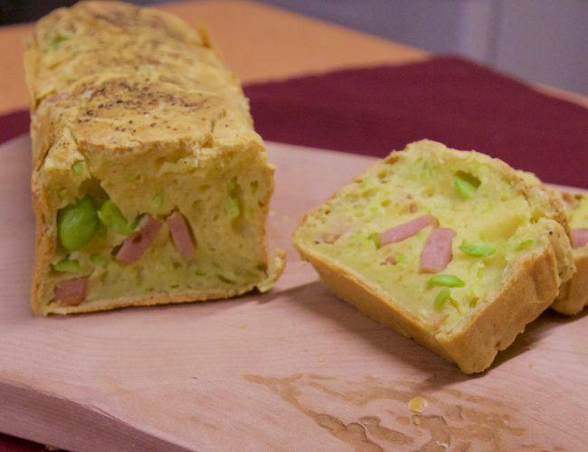 地産地消レシピ№7:鹿角づくしケーク・サレ(塩ケーキ)
