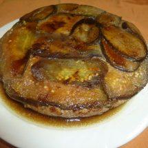 地産地消レシピ№4:なすと八幡平ポークのミルフィーユ焼き