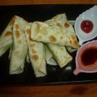 地産地消レシピ№5:枝豆とチーズの包み焼き