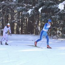 県民体育大会冬季大会のスキー競技会が鹿角市で開幕!